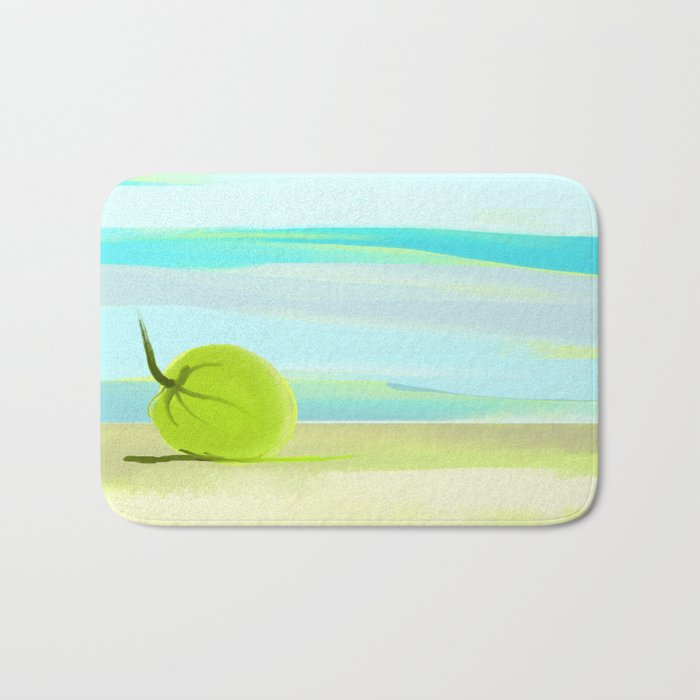 tropic beach Bath Mat