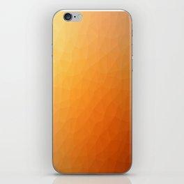 Orange flakes. Copos naranja. Flocons d'orange. Orangenflocken. Оранжевые хлопья. iPhone Skin