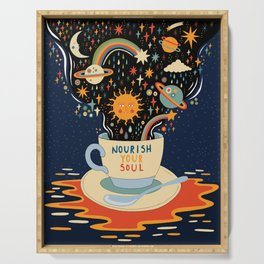 Nourish your soul Serving Tray