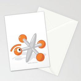 pin jacks glance Stationery Cards
