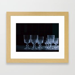 Party is over Framed Art Print
