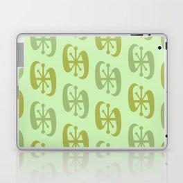 Starburst Bell Peppers Light Green Laptop & iPad Skin