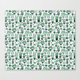 Ms Botany Greenery Canvas Print