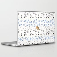 robin Laptop & iPad Skins featuring Robin by Ornaart