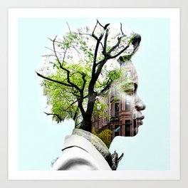 Brooklyn State of Mind Art Print