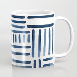 Navy Stripes of All Kinds Coffee Mug