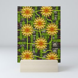 Dandelion Garden Mini Art Print