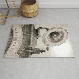 The Chimney Sweep (Monochrome) Rug