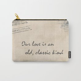old love letter Carry-All Pouch