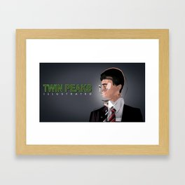 Abstract Cooper Framed Art Print