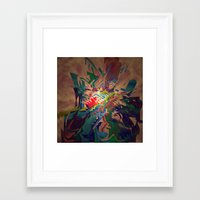 chaos Framed Art Prints featuring Chaos by lillianhibiscus