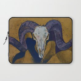 Ram Skull Laptop Sleeve