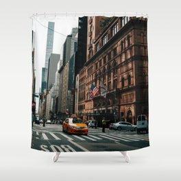 New York City Street Shower Curtain