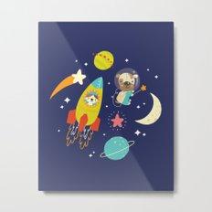 Space Critters Metal Print