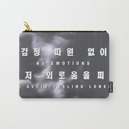 DEAN Gloomy and Lonley Pour Up Hangul Carry-All Pouch