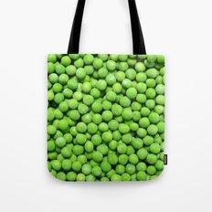 frozen peas Tote Bag