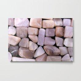 Sunstone Heap Stones Metal Print