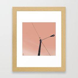 Perch 1 Framed Art Print