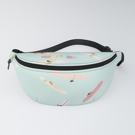 Surfs Up Ladies Fanny Pack