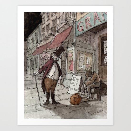 The Gift (color) Art Print