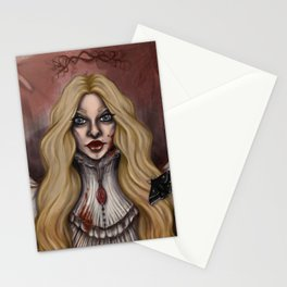 Crimson Ghosts Stationery Cards