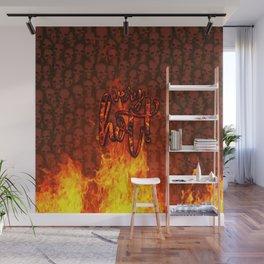 Very Hot! Wall Mural