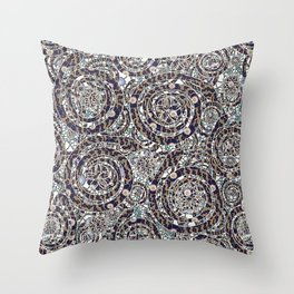 Year of the Snake mosaic Throw Pillow
