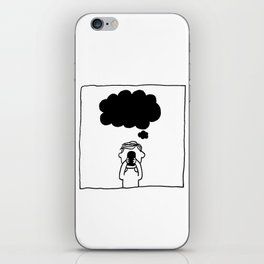 Death by Smartphones iPhone Skin