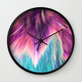 Colorful Space Explosion Wall Clock
