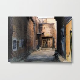 Artistry - Graffiti Wall Metal Print
