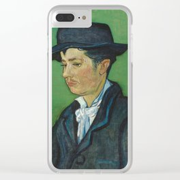 Portrait of Armand Roulin by Vincent van Gogh Clear iPhone Case