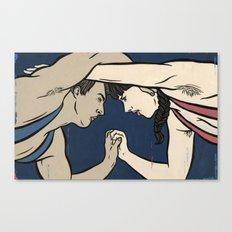 Diana Complex Canvas Print