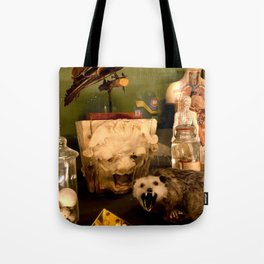 Curious Beasts Tote Bag