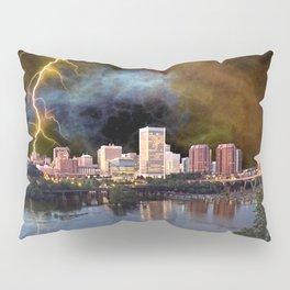 Stormy Richmond Skyline Pillow Sham