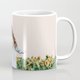 Lost in Sunflowers Coffee Mug