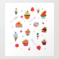 Sweets Art Print