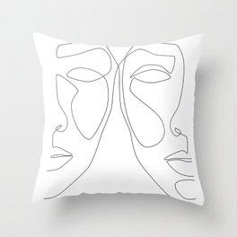 Double Face Throw Pillow