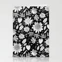 TROPICAL FLORAL BLACK & WHITE by jesuisunlapin