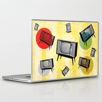 cinema Laptop & iPad Skins featuring VINTAGE HOME CINEMA by d.ts