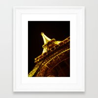 eiffel Framed Art Prints featuring Eiffel by ( ͡° ͜ʖ ͡°)