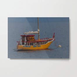 Italian Fishing Boat Metal Print