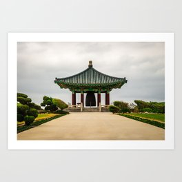 Korean Bell of Friendship Art Print