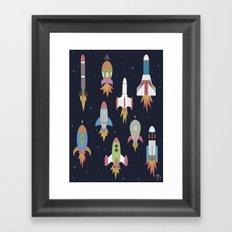 Rockets! Framed Art Print