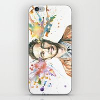 james franco iPhone & iPod Skins featuring Mind Blown::James Franco by James Murlin