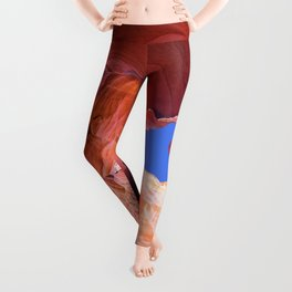Geology Alive - Time Passages of Antelope Canyon Leggings