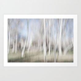 Abstract trees | Fine Art photography Art Print