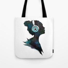 Lost In Space (Clean) Tote Bag