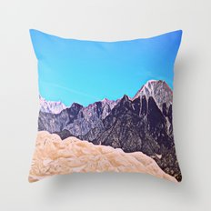 Great Sand Dunes II Throw Pillow