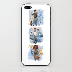 The Golden Trio iPhone & iPod Skin