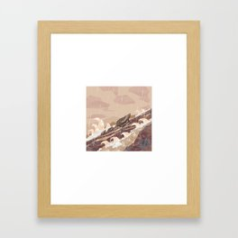 Shelter - River Framed Art Print
